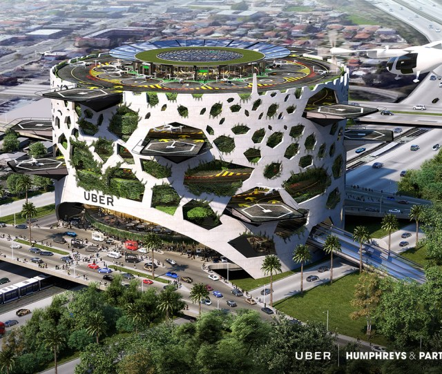 These Uber Air Skyport Concepts Look Straight Out Of Star Wars