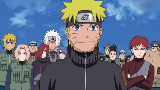 Naruto stands among allies in Naruto Shippuden