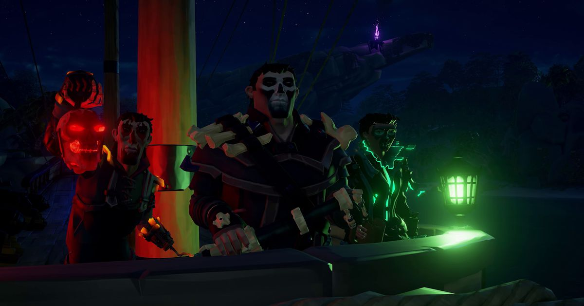 Sea Of Thieves Is Getting A Spooky Seasonal Event This