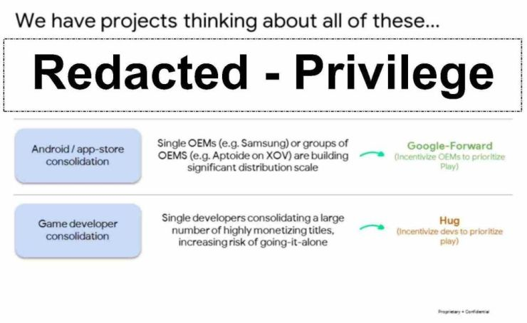 """A Google presentation looking back at 2018 mentions """"Hug"""" incentives for game developers to keep them from """"going it alone""""."""