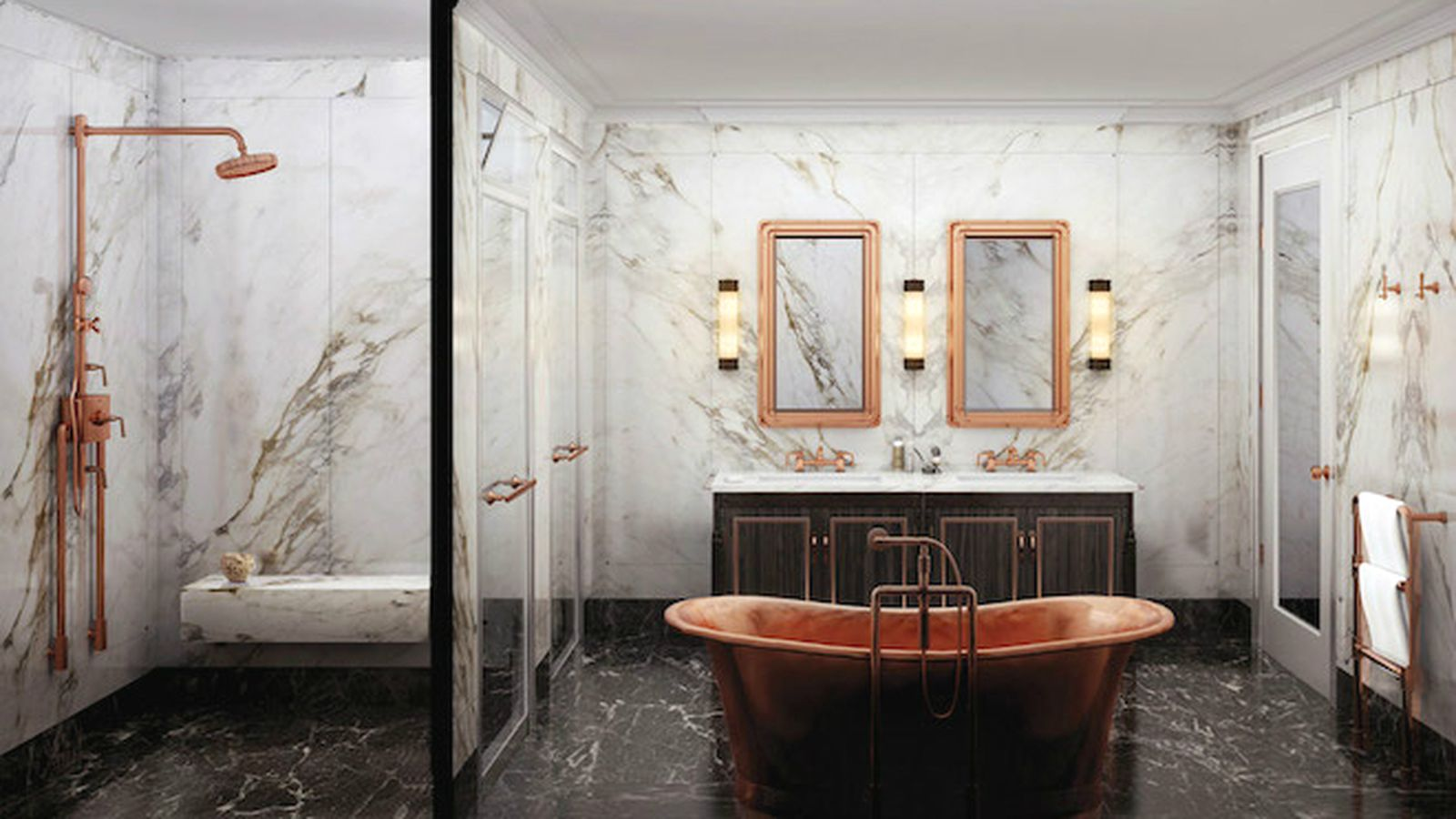 Toilet Room Within the Bathroom: The Ultimate Luxury or
