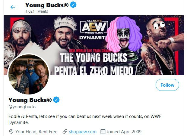 Young Bucks look forward to defending AEW tag titles on WWE Dynamite