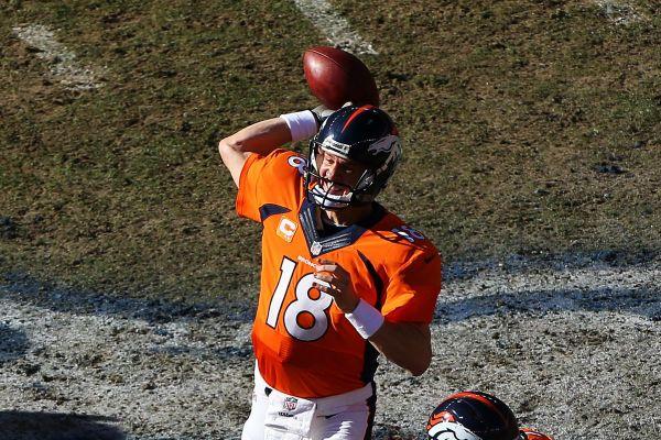 Patriots vs Broncos 2014 AFC Championship New England