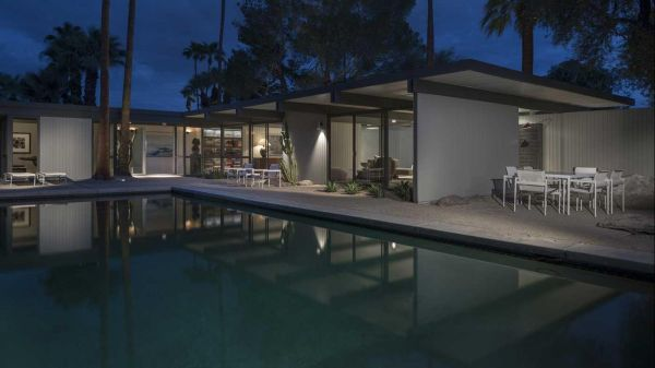 Modernist Palm Springs House Of Architect