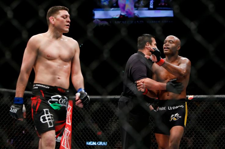 Image result for anderson silva nick diaz