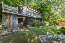 1970s Redwood Cottage With Panoramic Lake Views Asks 639k