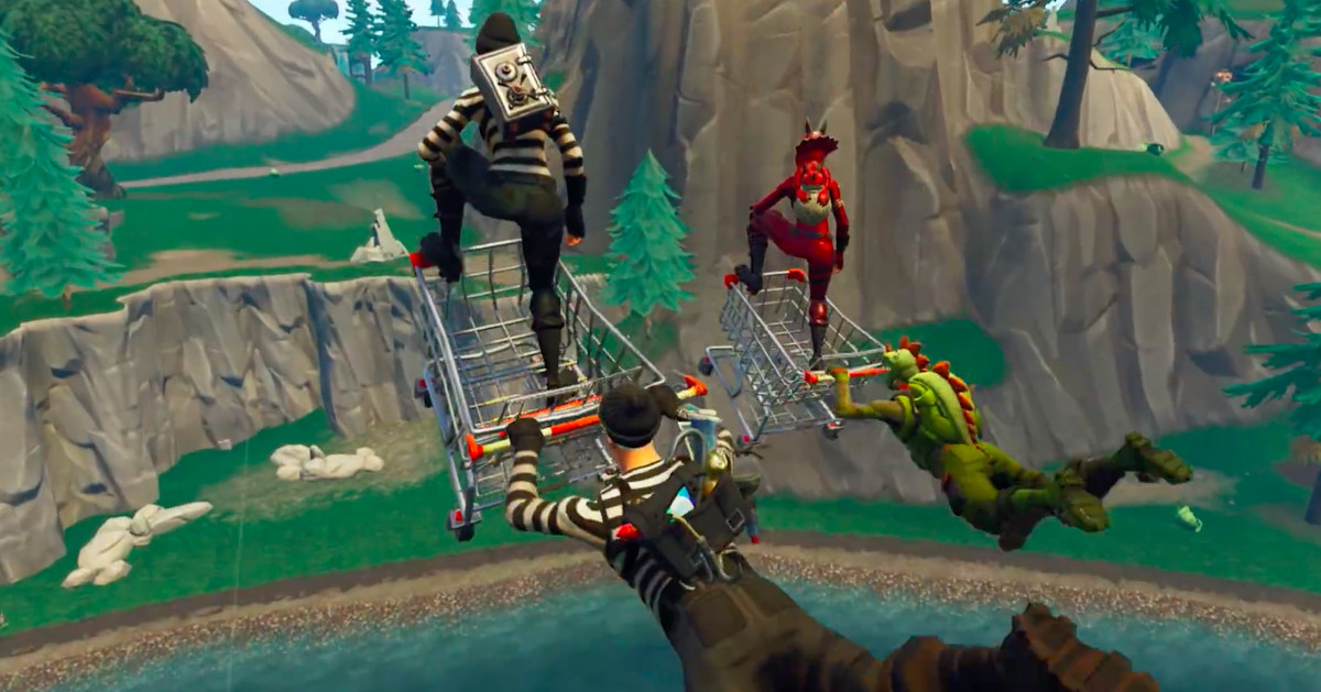 Fortnite Shopping Carts Are Giving Epic Games A Big