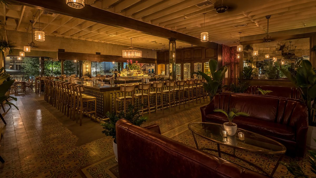 Inside Dama Downtown LAs Chic LatinInspired Lounge From