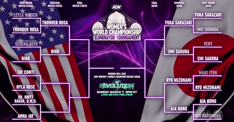 How you'll be able to watch the rest of the AEW Women's Tournament