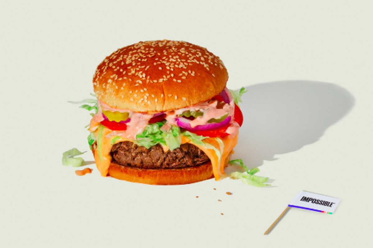 impossible foods meatless burgers