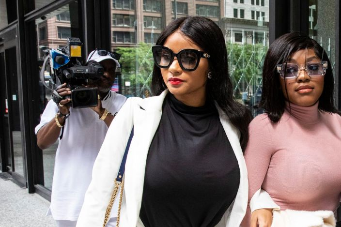 Image result for R Kelly's ex-girlfriend makes abortion claim