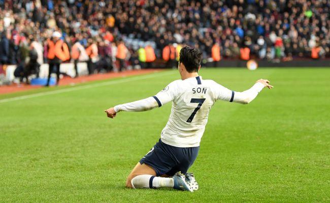 Aston Villa 2 3 Tottenham Son Scores Last Gasp Winner As