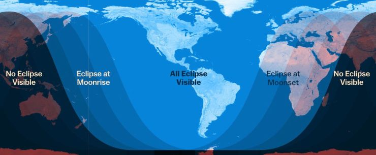 Vox Eclipse Map.Lunar Eclipse 2019 How To Watch This Supermoon Turn Blood Red