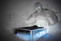 Game Of Thrones Ice Hotel In Finland Features 400 Tons