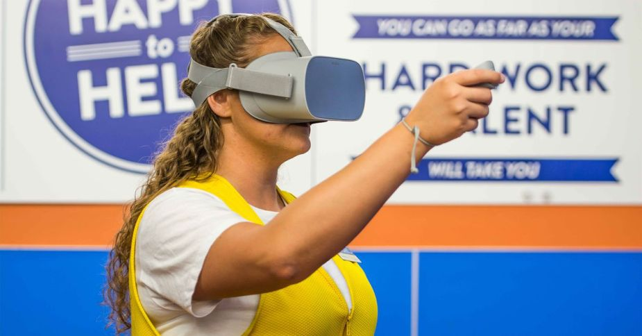Walmart is putting 17,000 VR headsets in its US stores for training