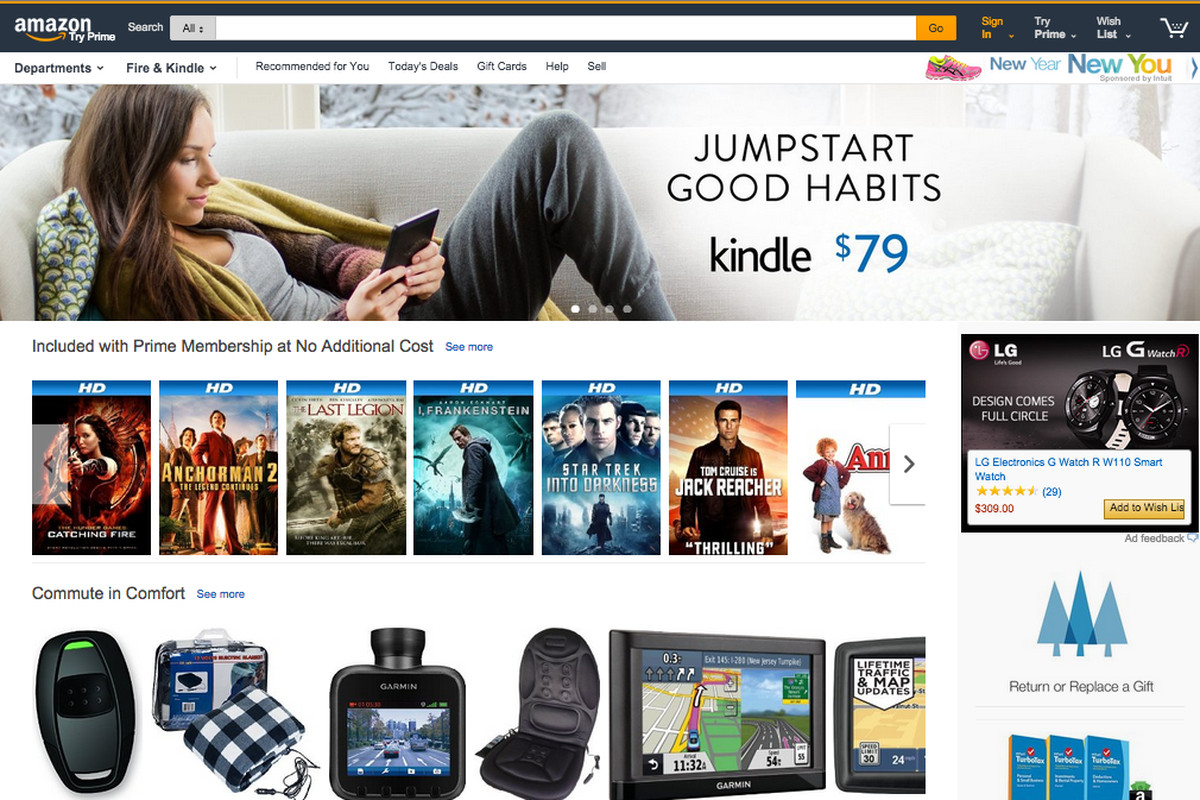 This is what Amazon.com could soon look like - The Verge