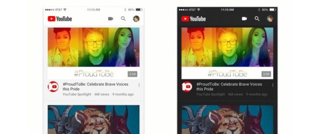 YouTube para iOS e Android ganham um modo escuro