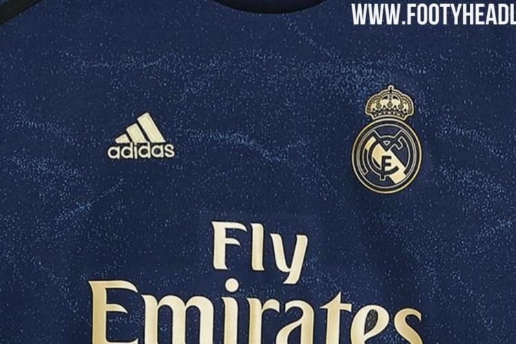 Real Madrid 2019/20 Away Kit Leaked - Managing Madrid