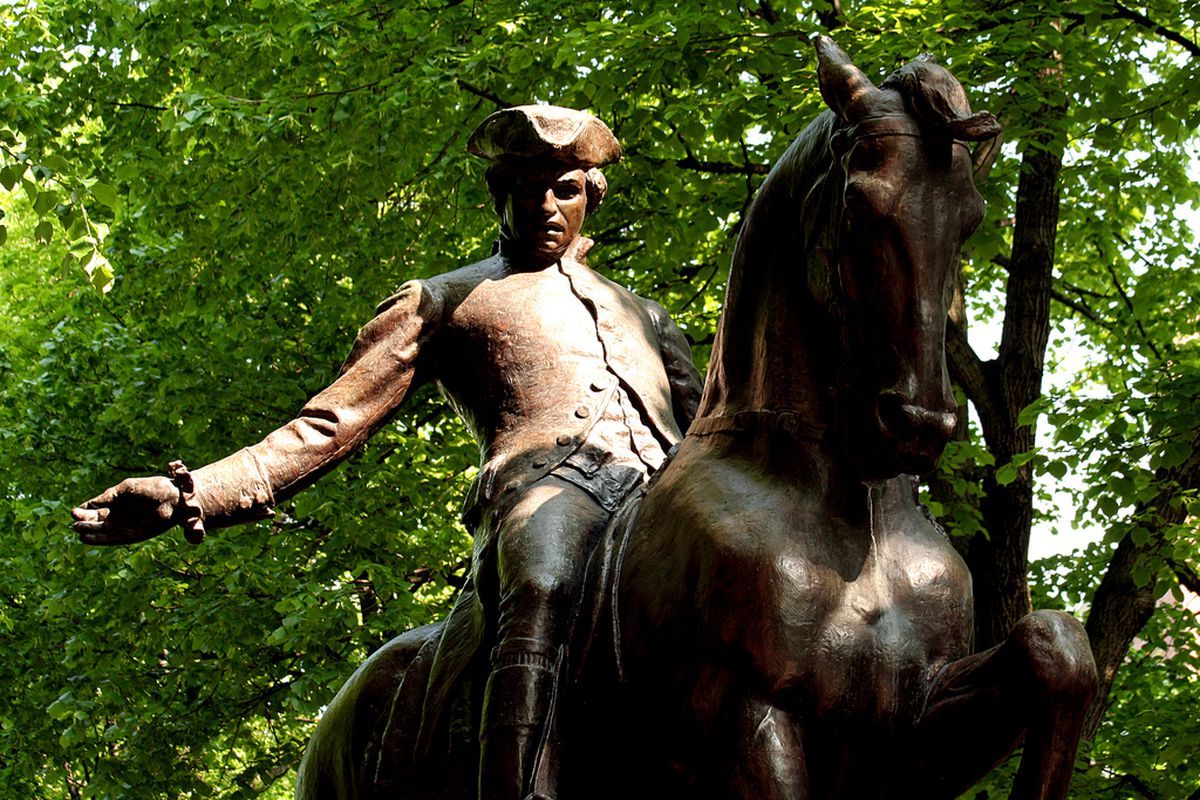 Paul Revere Could Have Been Caught If The British Crown