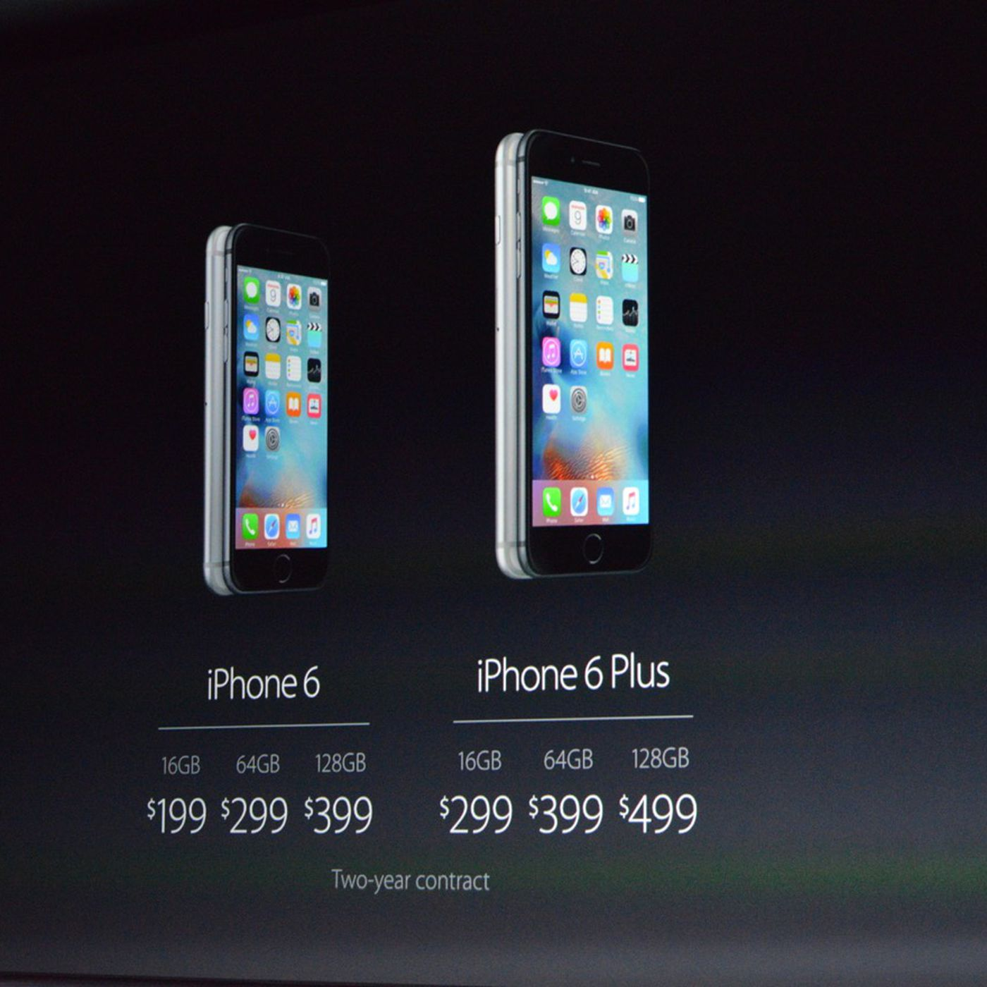 Iphone 6s Release Date September 25th Prices Start At 199