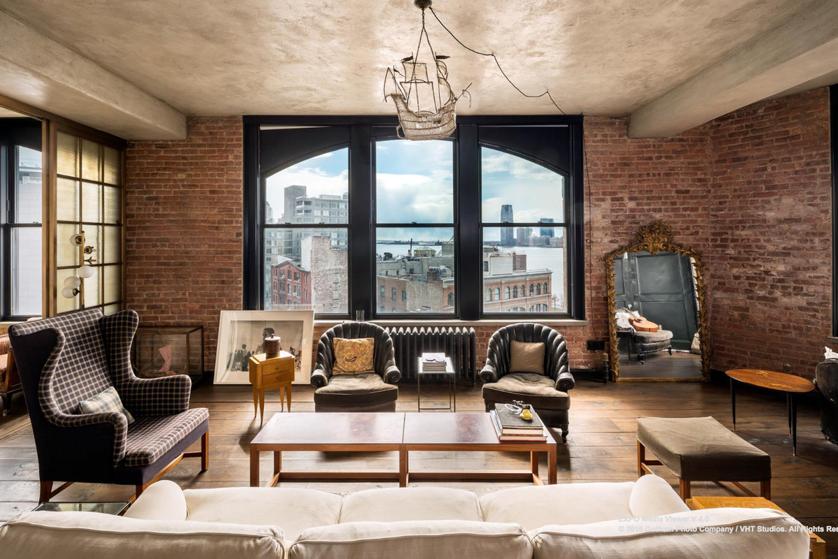 Kirsten Dunsts funky Soho loft is now asking 500K less  Curbed NY