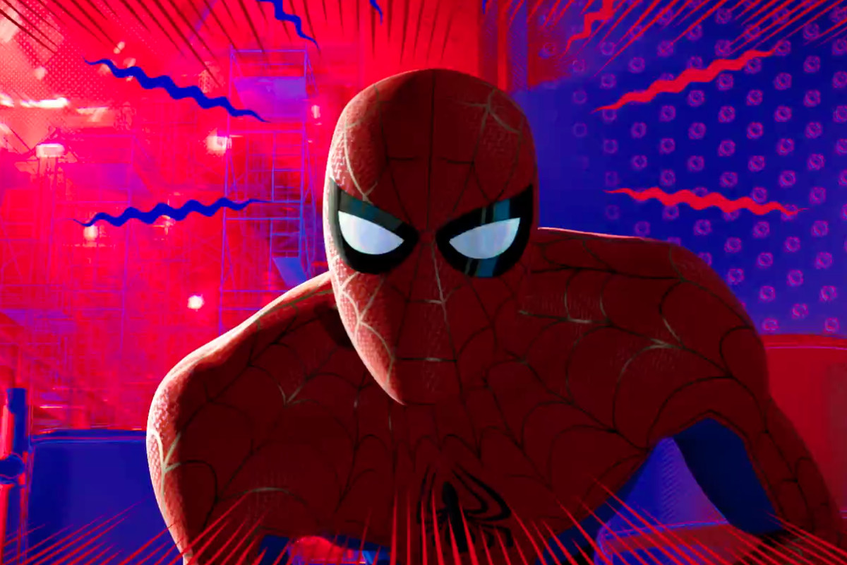 Black Hole Animated Wallpaper Spider Man Into The Spider Verse Trailer Easter Eggs You