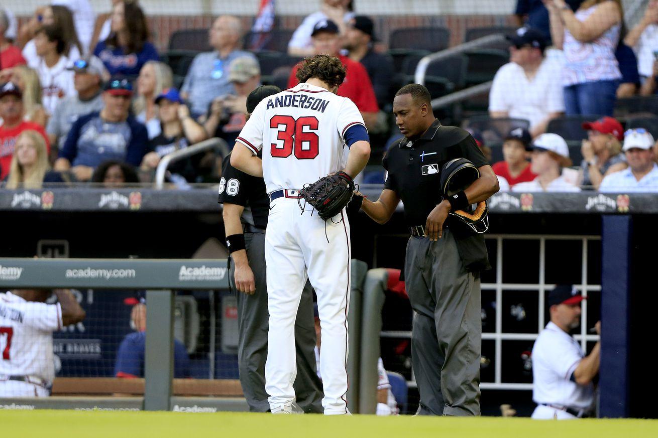 MLB: JUL 01 Mets at Braves