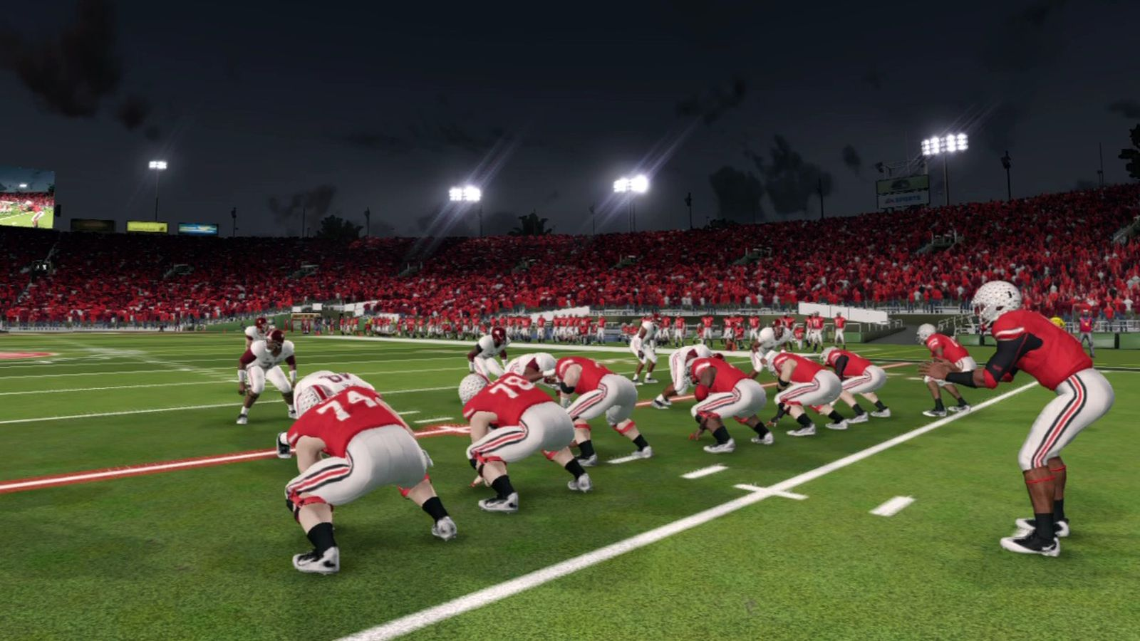 NCAA Football 14 Ohio State Roster Complete Ratings