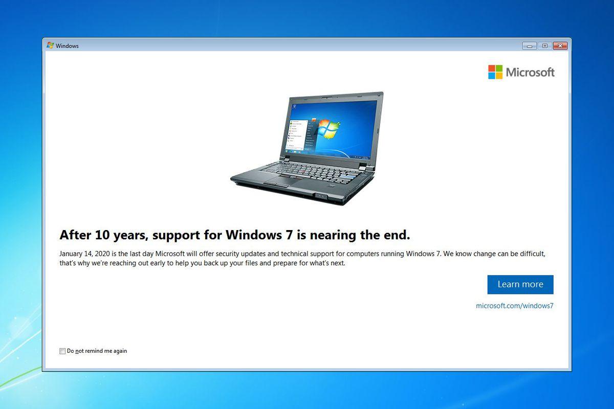 microsoft starts notifying windows