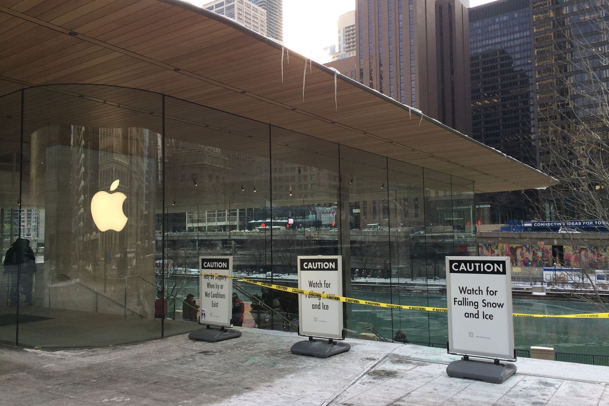 apple s flagship chicago