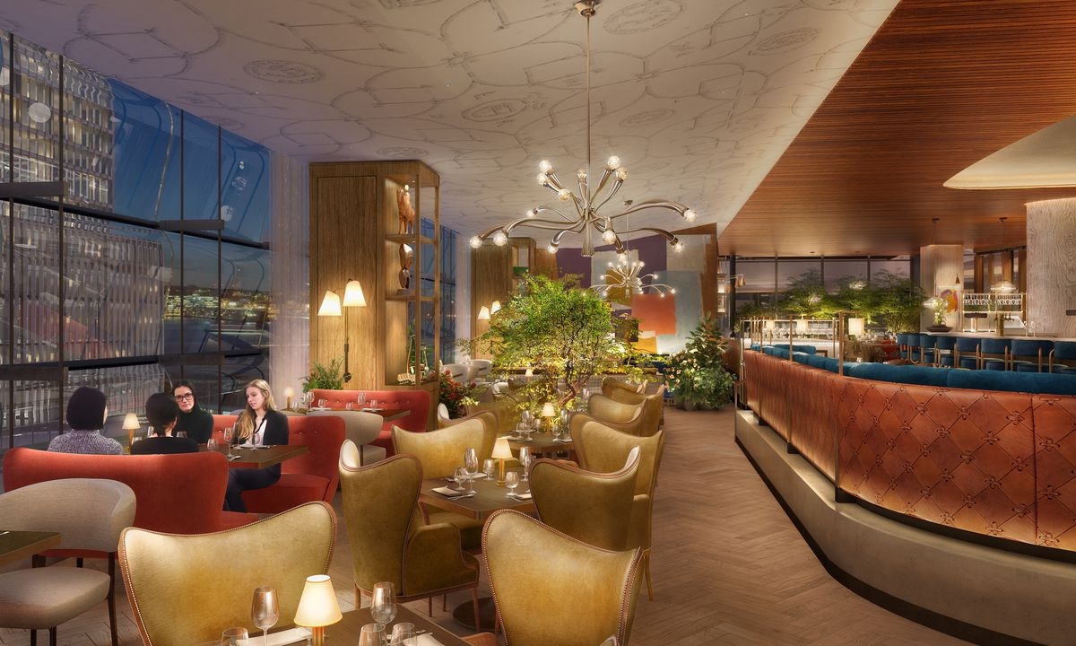 DD London Plans to Open Queensyard at Hudson Yards in March  Eater NY