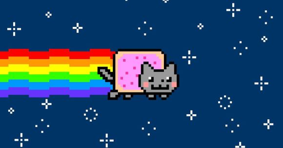 Nyan Cat is being sold as a one-of-a-kind piece of crypto art