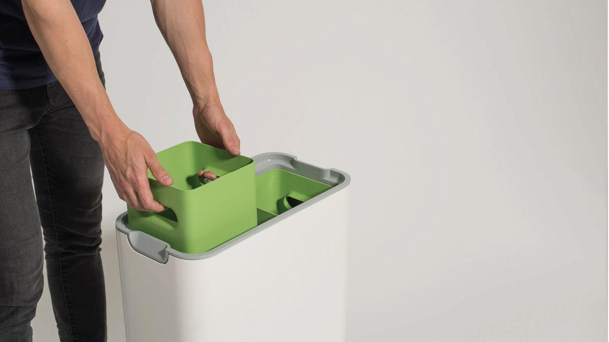 compost bin for kitchen refurbished table this ferments your waste curbed watson s design won him the new designers joseph brilliantly useful award and loughborough university grad is currently exploring production