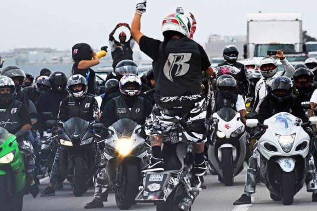 Ruff Ryders motorcycle crew pull up to DMX's hospital - REVOLT