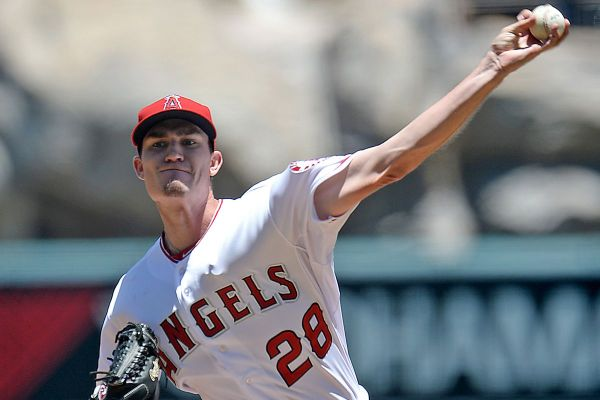 Andrew Heaney Six Strong Taylor Featherston Walkoff Single In 13th Angels Beat