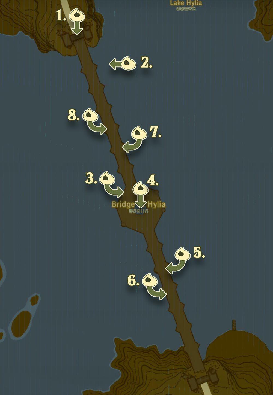Korok Forest Map : korok, forest, Zelda, Breath, Guide:, Korok, Seeds, About, Polygon