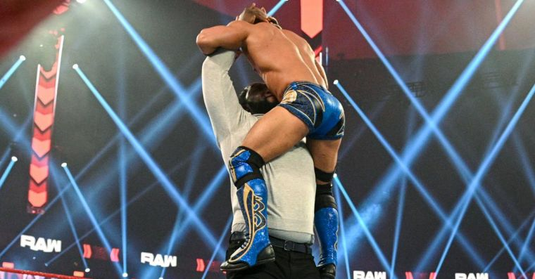 WWE gives Damian Priest and Omos' finishing moves new names