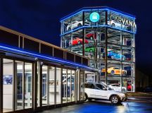 A five-story vending machine for cars just opened in ...