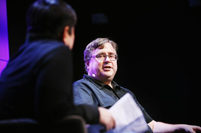 Reid Hoffman onstage at the WIRED25 Festival on October 13, 2018 in San Francisco, California.