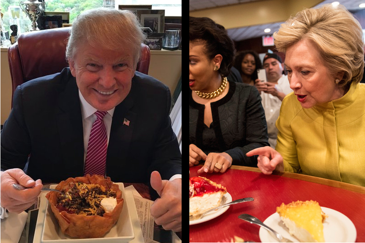 where presidential candidates ate