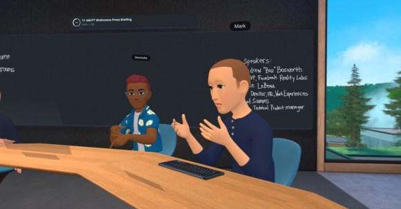 Inside Facebook's metaverse for work