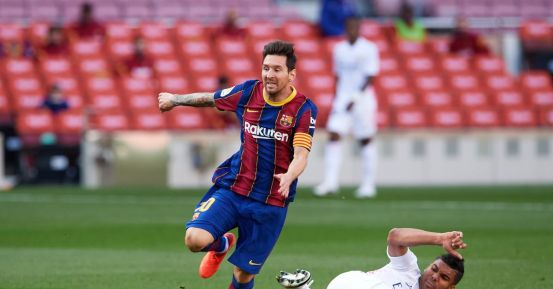 It's time for Messi to rise again at Real