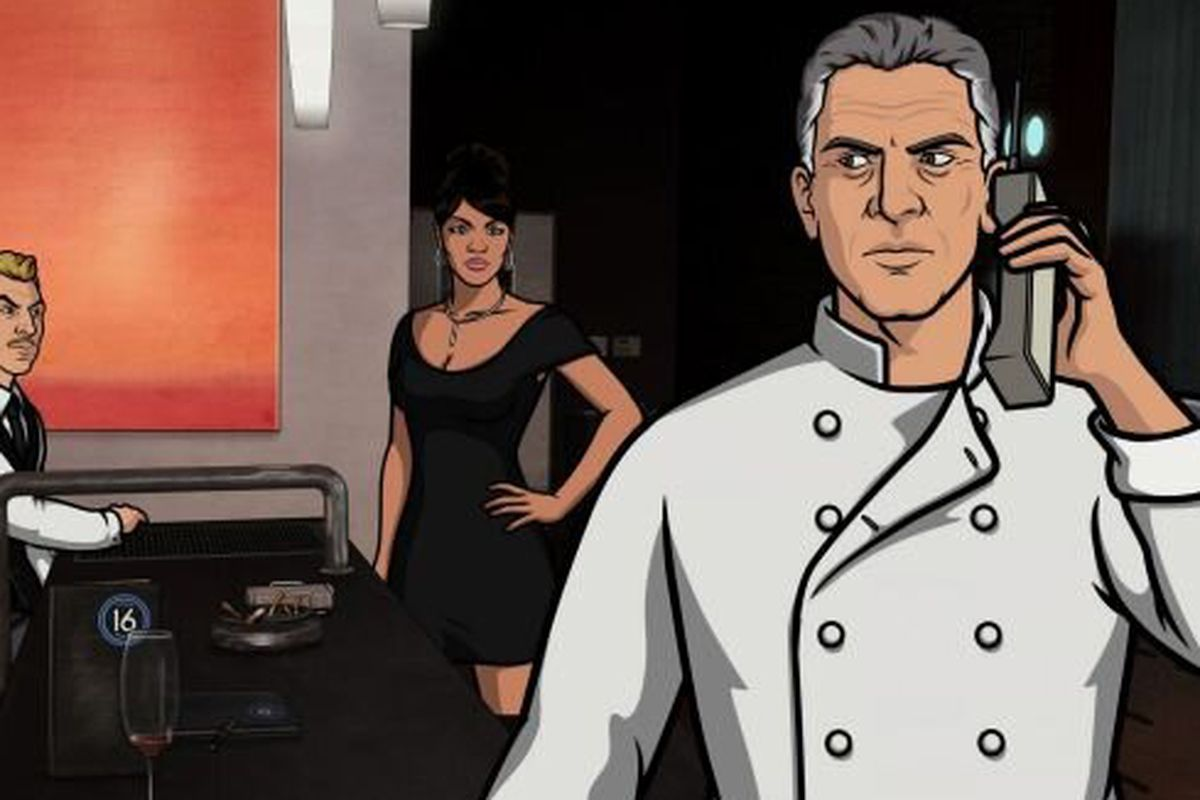 Heres Anthony Bourdains Bastard Chef Archer Character