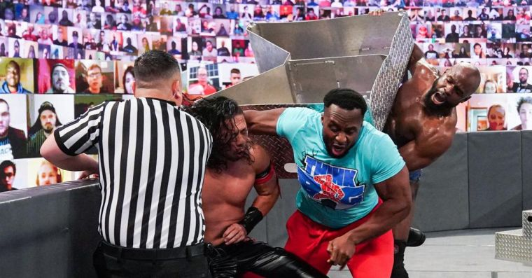 Apollo Crews stays silent on attack that injured Big E