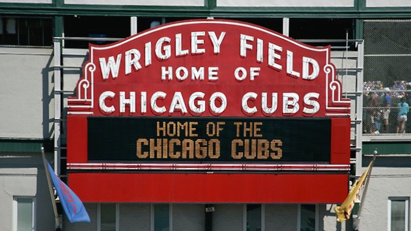 Wrigley Field's Iconic Marquee Is Getting A Toyota Logo