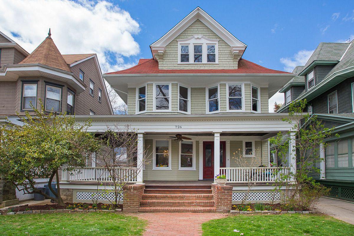 Idyllic Ditmas Park House Has Summery Porch And Hammock