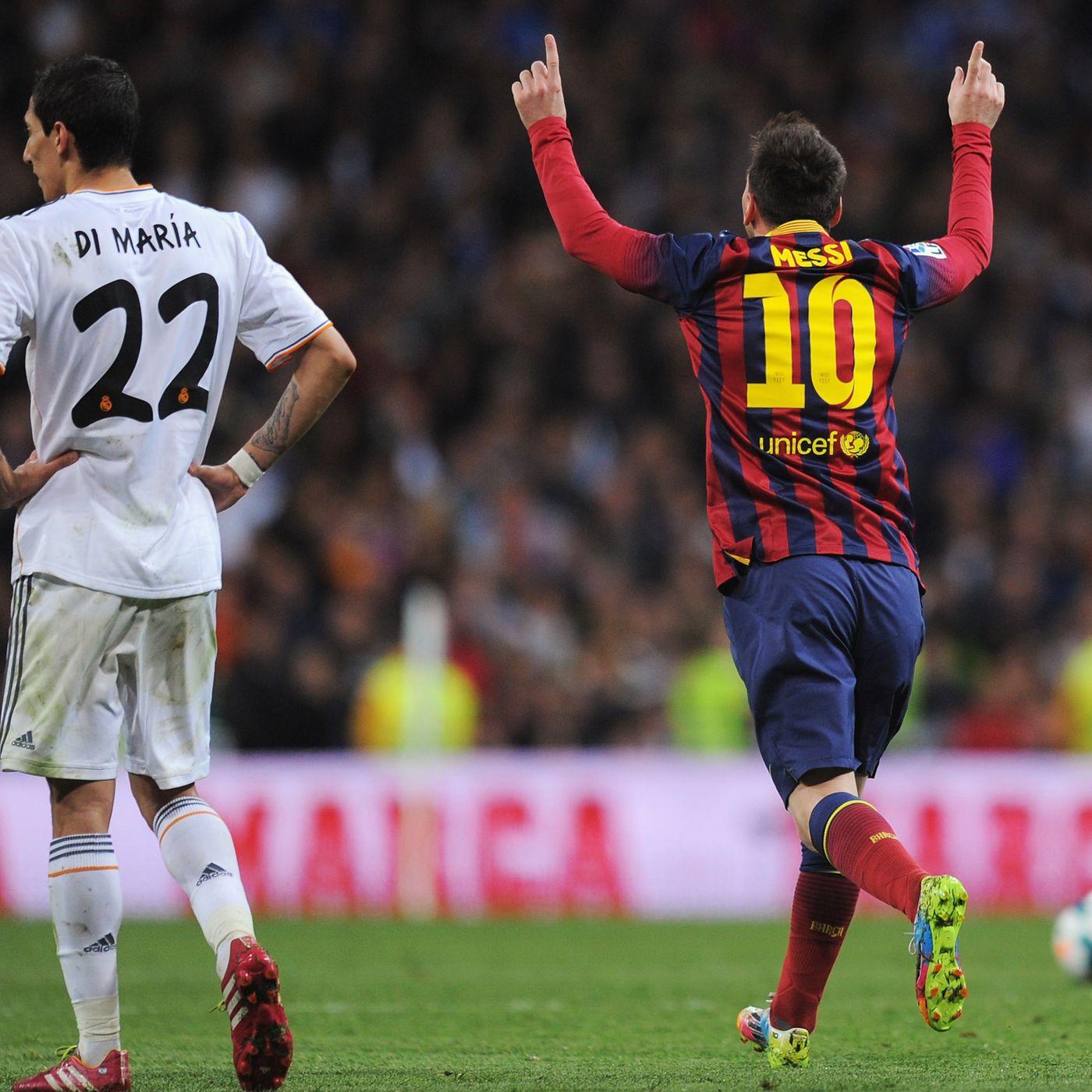 real madrid vs barcelona 2014 el