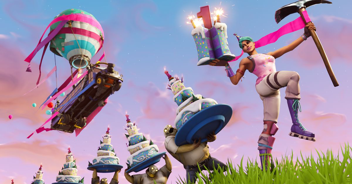 Epic Is Celebrating Fortnites One Year Anniversary With