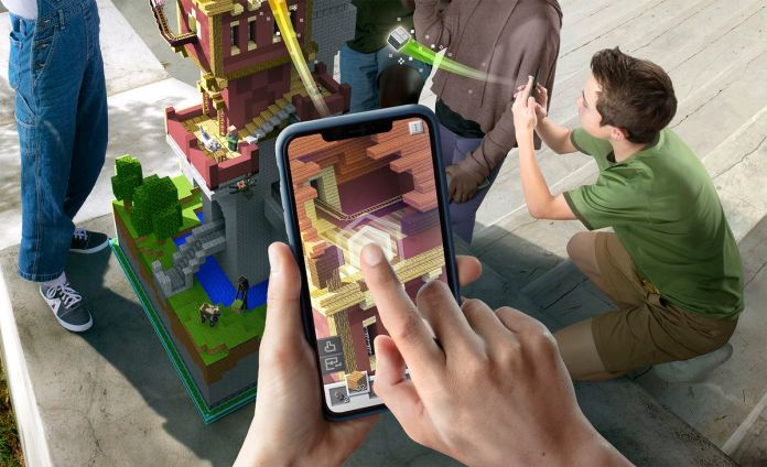 Minecraft Earth for iOS and Android goes a step past Pokémon Go 6