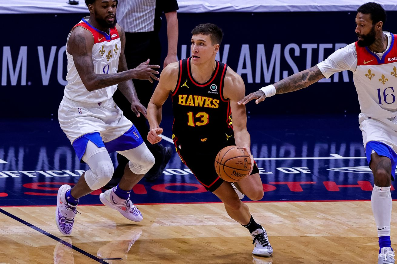 NBA: Atlanta Hawks at New Orleans Pelicans